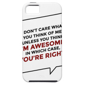 You're Right I'm Awesome Case For The iPhone 5