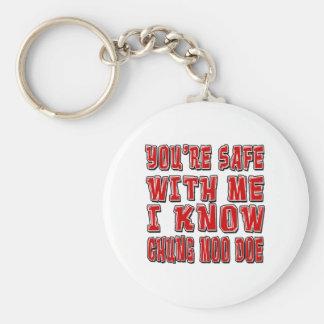 You're safe with me i know CHUNG MOO DOE. Keychain