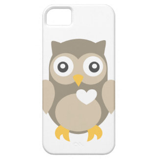 You're Such a Hoot in Brown Case For The iPhone 5