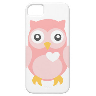 You're Such a Hoot in Pink iPhone 5 Covers