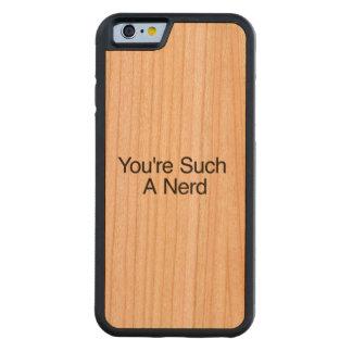 You're Such A Nerd Cherry iPhone 6 Bumper Case