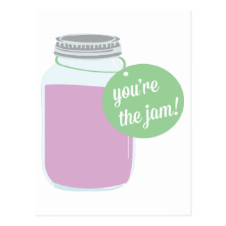 You're The Jam! Postcard