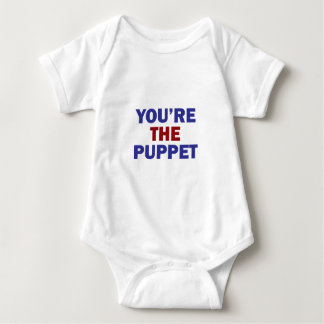 You're the Puppet Baby Bodysuit