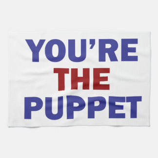 You're the Puppet Tea Towel