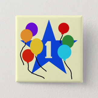 You're the Star 1st Birthday Tshirts and Gifts 15 Cm Square Badge