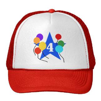 You're the Star 4th Birthday Tshirts and Gifts Cap
