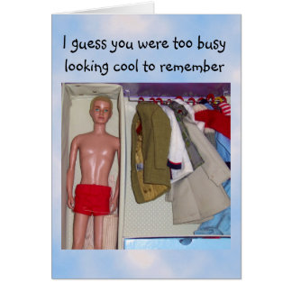 You're Too Cool Sarcasm Greeting Card