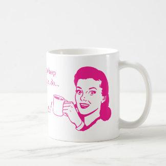 """you're welcome!"" basic white mug"