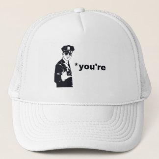 You're Your Grammar Police Trucker Hat