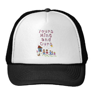Yours Mine and Ours Blended Family Stepmom Stepdad Cap