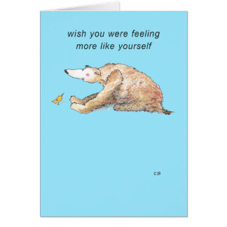 """Yourself"" Get Well Card"