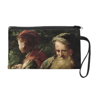 Youth and Age (oil on panel) Wristlet Purse