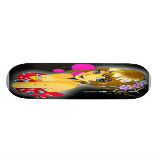 youth and spring time 20 cm skateboard deck