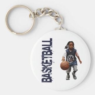 Youth Basketball Keychains