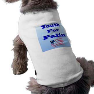 Youth for Palin Doggy Apparel Shirt