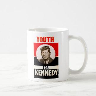 Youth for President John F. Kennedy Coffee Mug