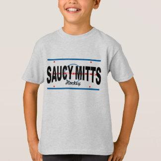 Youth Hockey Saucy Mitts Hockey Center Ice T-Shirt