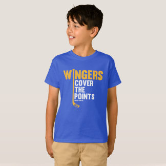 Youth Hockey Wingers Cover The Points T-Shirt