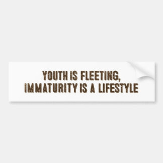 Youth is Fleeting - Sticker