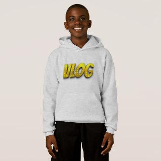 youth large vlog hoodie