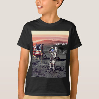 Youth Tee - Black - Hollywood Moon Man