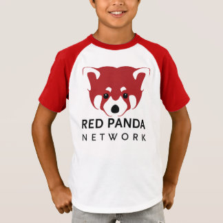 Youth Vintage Style Red Panda T T-Shirt