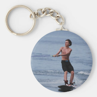 Youth Wakeboarding Keychain