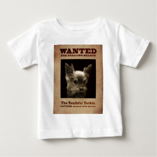 Youthful Yorkie_ Baby T-Shirt
