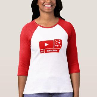 Youtube Shirt - Subscribe Logo Youtube Shirt