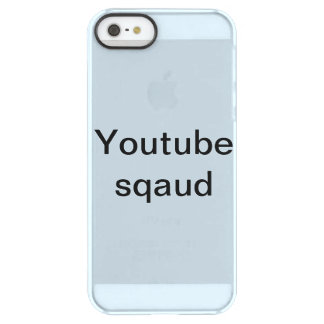 youtube Sqaud iphone se and iPhone 5/5s cause Permafrost® iPhone SE/5/5s Case