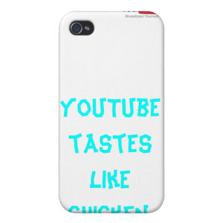 YouTube Tastes Like Chicken iPhone 4 case! iPhone 4 Case