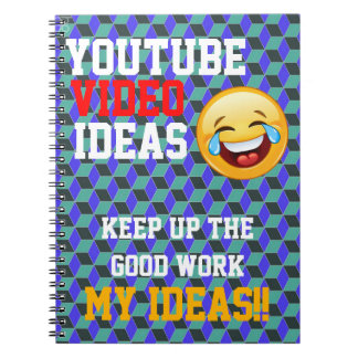Youtube Video Ideas NotePad :) Notebook