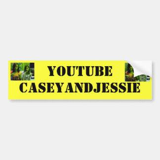 Youtubecaseyandjessie Bumper Stickers
