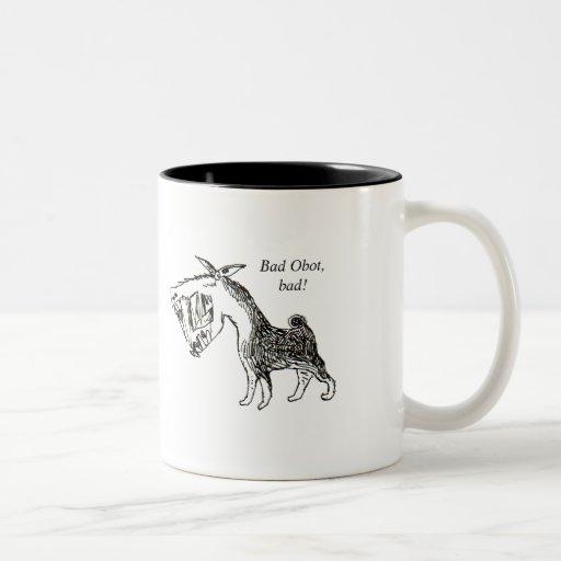You've been baned Two-Tone mug