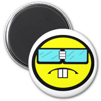 You've been Geeked 6 Cm Round Magnet