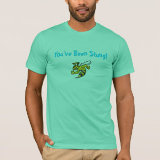 You've Been Stung! New Orleans Hornets NBA Playoff T-Shirt