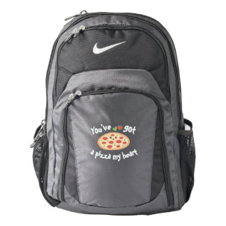 You've Got a Pizza My Heart Funny Punny Food Humor Backpack