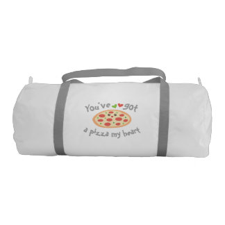 You've Got a Pizza My Heart Funny Punny Food Humor Gym Bag