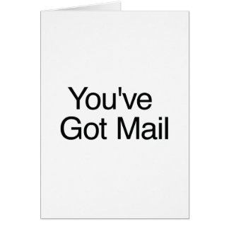 You've Got Mail Card