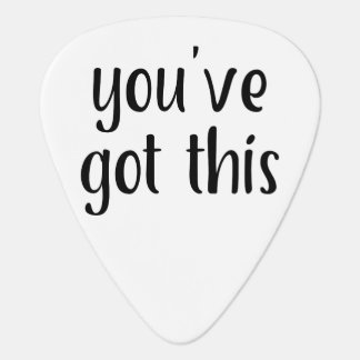 You've Got This: Inspiring, Simple Pep-Talk, 2 Plectrum