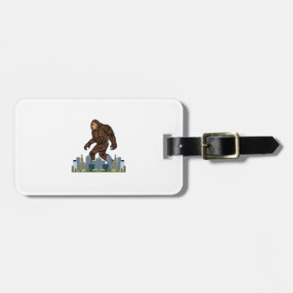 Yowie at Large Luggage Tag