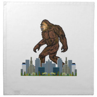 Yowie at Large Napkin