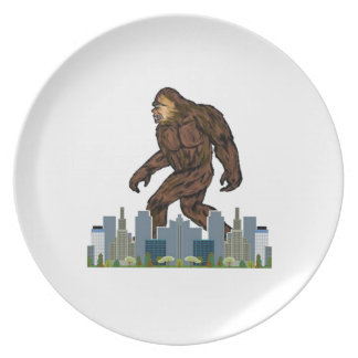 Yowie at Large Plate