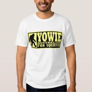 YOWIE AUSTRALIAN FOR SQUATCH - Bigfoot Down Under T Shirt