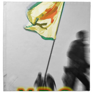 YPG - Kurdish Freedom Fighters of Kobani Napkin