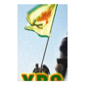 YPG - Kurdish Freedom Fighters of Kobani v2 Stationery