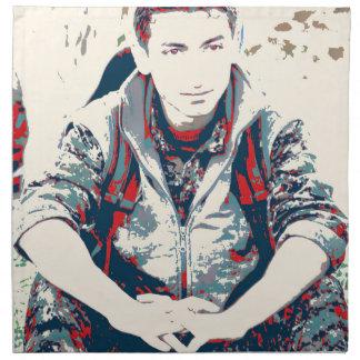 YPG Soldier 3 Art Napkin