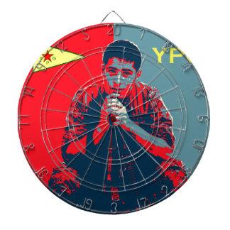 YPG Soldier 4 art 2 Dartboard