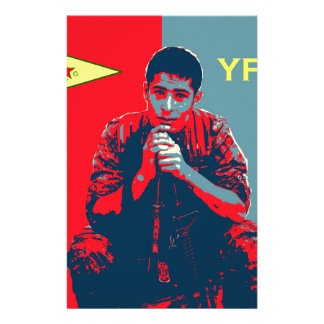 YPG Soldier 4 art 2 Stationery