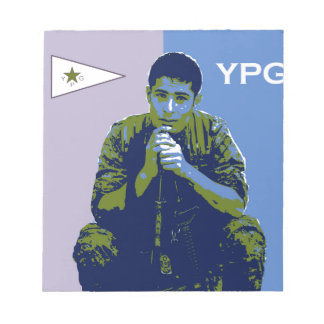 YPG Soldier 4 art 3 Notepad